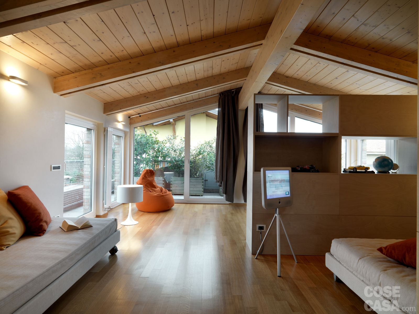 Cool lampade mansarda cerca con google with case moderne - Cucine con vetrate ...
