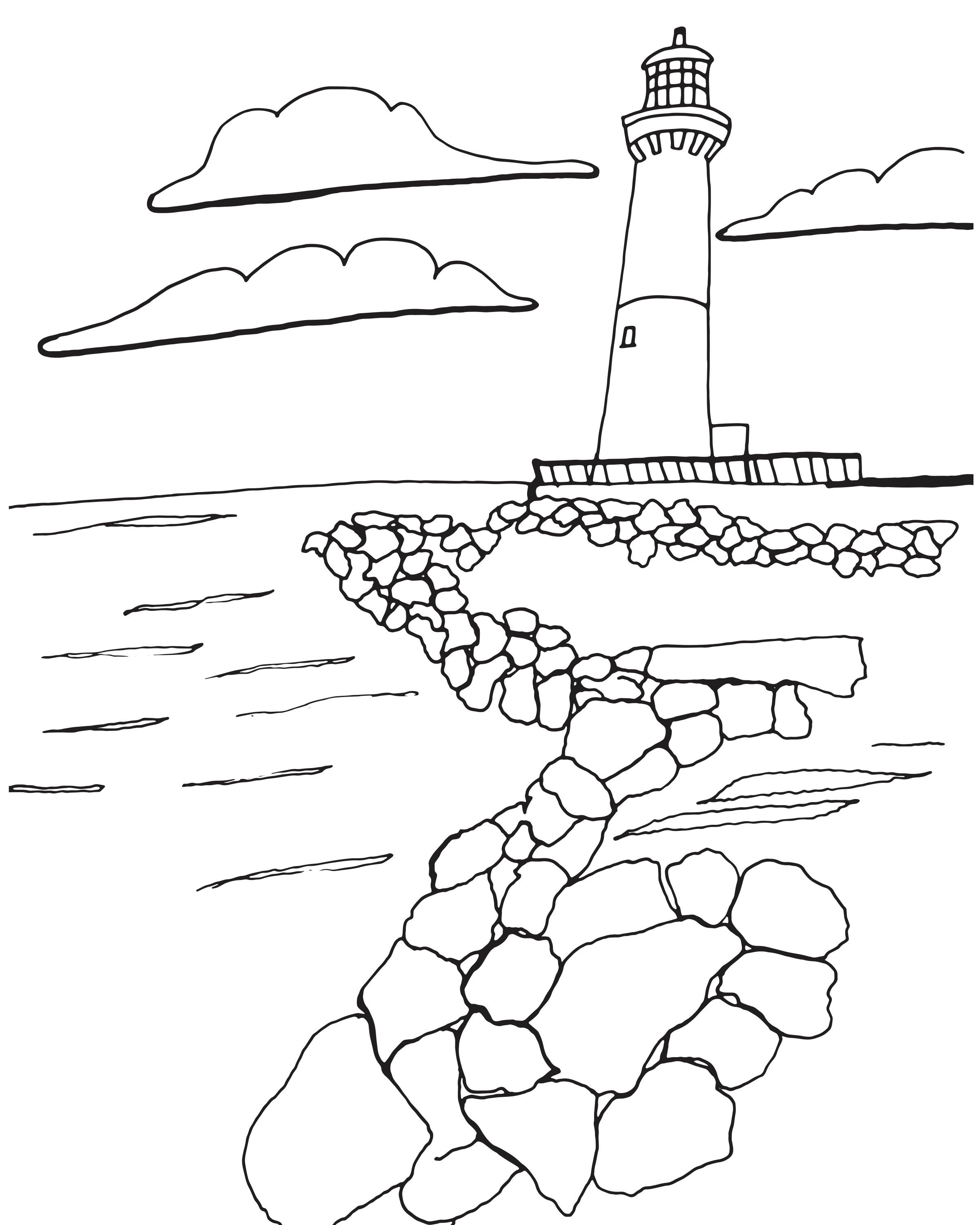 Sketch of Old Barney! Featured in the Colorful Coast LBI Edition ...