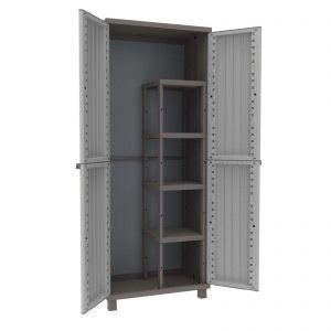Plastic Broom Storage Cabinet