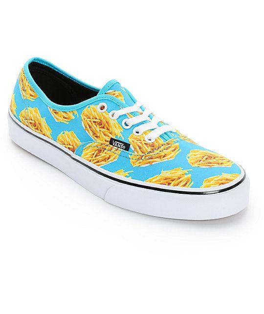Vans Era Authentic Fries Skate Shoes  Zumiez
