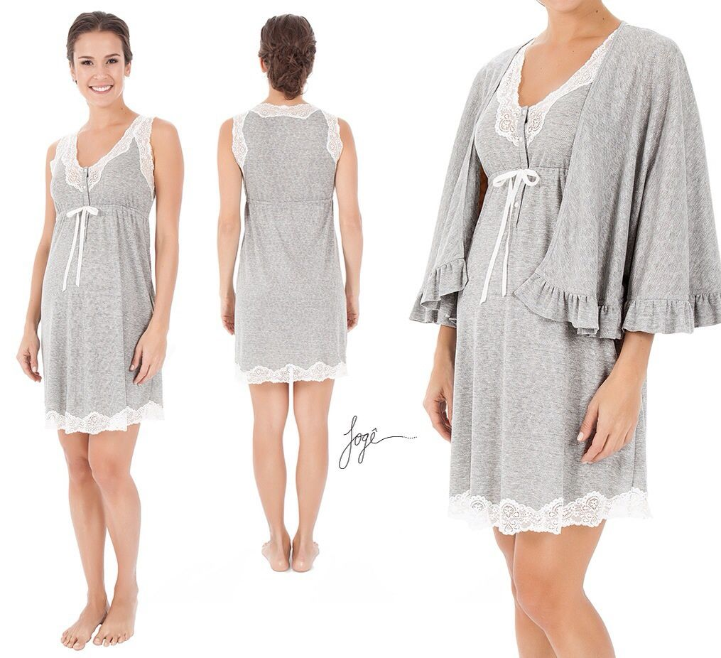 Camisola gestante Jogê | Ropa de maternidad | Pinterest | Pijama ...