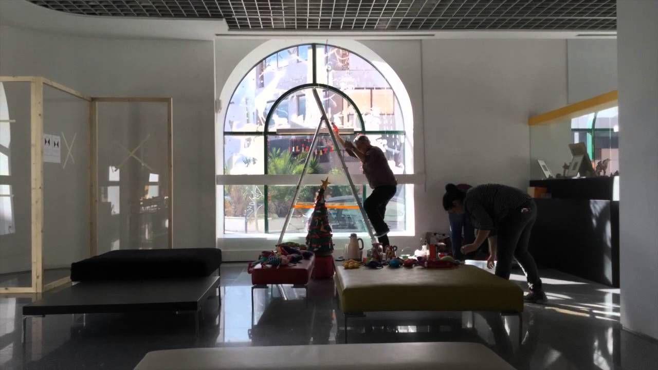 Timelapse Making of da Montra d'Artista - Julieta Franco e João Pancada ...