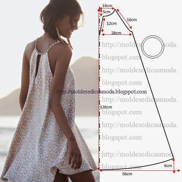 35 modelos y patrones de vestidos para dama | COSTURA | Pinterest ...