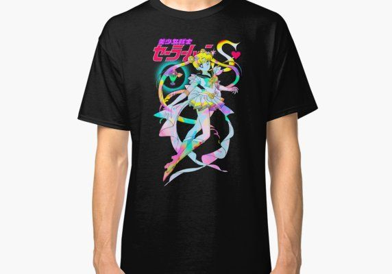 06360e8cd Super Sailor Moon PSY01 Classic T-Shirt in 2019 | Products | Classic ...