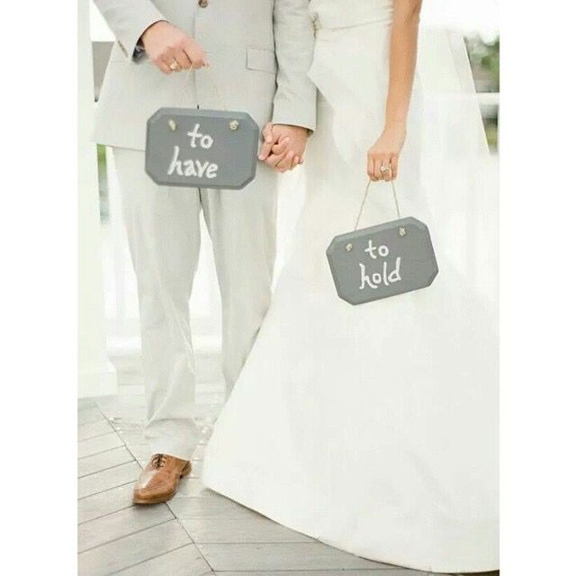 To have and to hold, wedding plaques, wedding signs, fun wedding