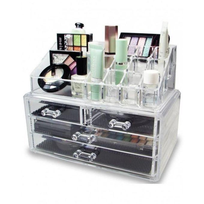 Cosmetics Jewelry Organizer Storage Box Case Acrylic Organizer Makeup Makeup Storage Display Cosmetic Storage