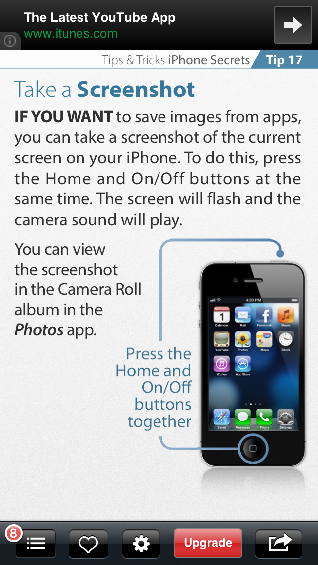 Handy Tip Iphone secrets, Tips