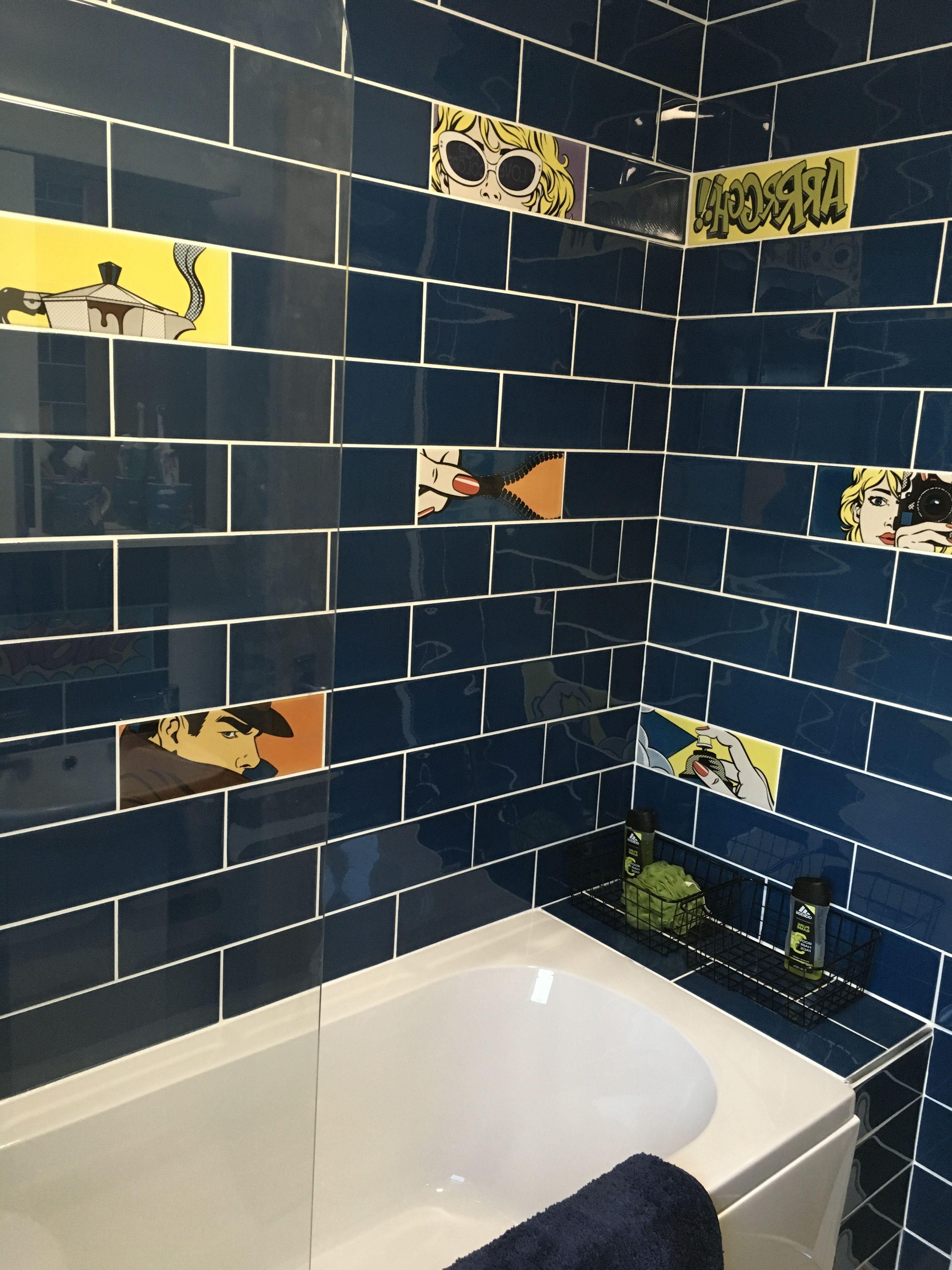 Pop Art Bathroom In 2020 Funky Bathroom Teenage Bathroom Boys
