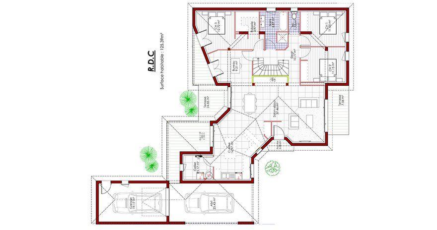 Exceptional Plan De Maison Original Plans Maisons en 2018 - Logiciel Pour Faire Un Plan De Maison