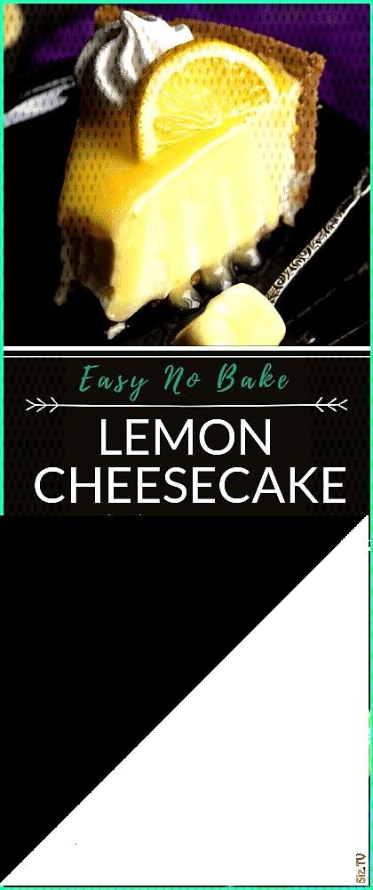 Easy Lemon Cheesecake Recipe Video Step by Step Pictures Included Easy Lemon Cheesecake Recipe V