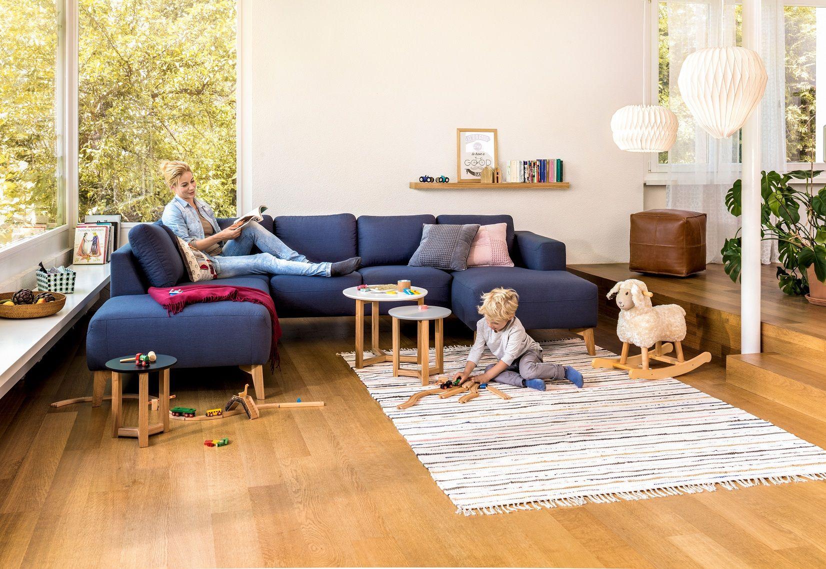 Wohnzimmer Teppich ~ Micasa wohnzimmer mit sofa u form jenni blau auch in anderen
