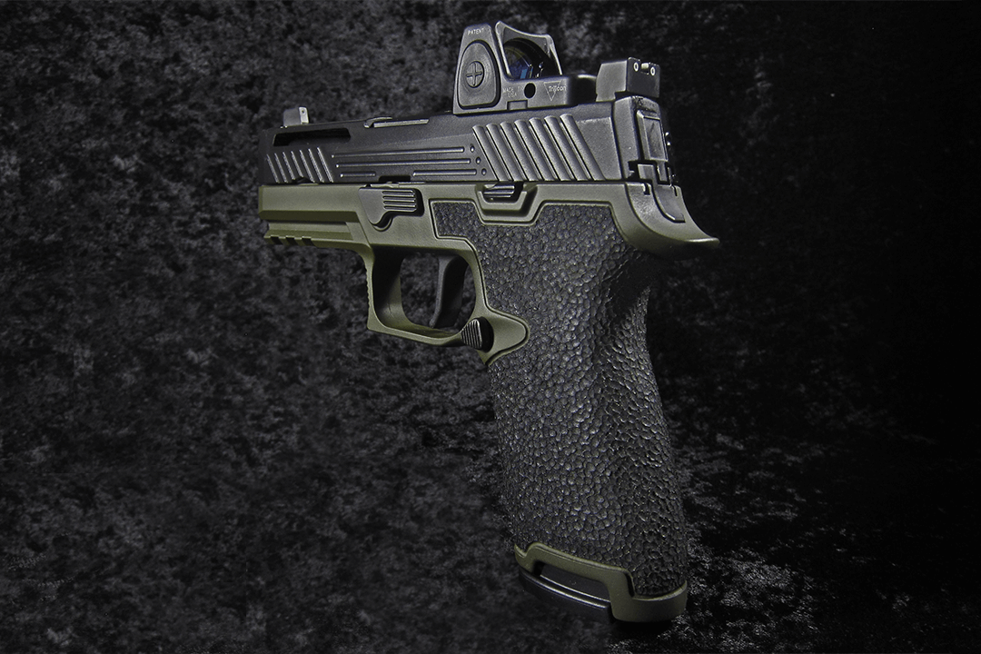 Sig Sauer P320 Custom Grip Stippling | Revolution Concepts | Sig ...