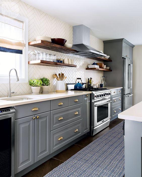 Cocinas modernas 2018 2019 cocinas modernas espacios for Decoracion de cocinas pequenas y sencillas