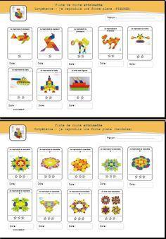 reproduire figures planes à partir d'une image avec les attrimaths | Cahier de réussite ...