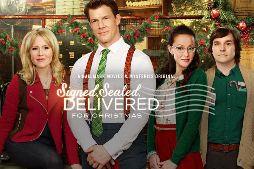 Signed, Sealed, Delivered for Christmas Hallmark Movies