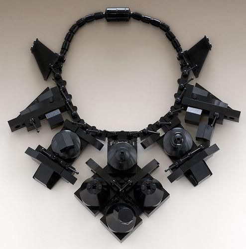 Emiko Oye, The Duchess, 2008, from her first Royal Jewels Jewellery Collection, used & new LEGO®, rubber cording,