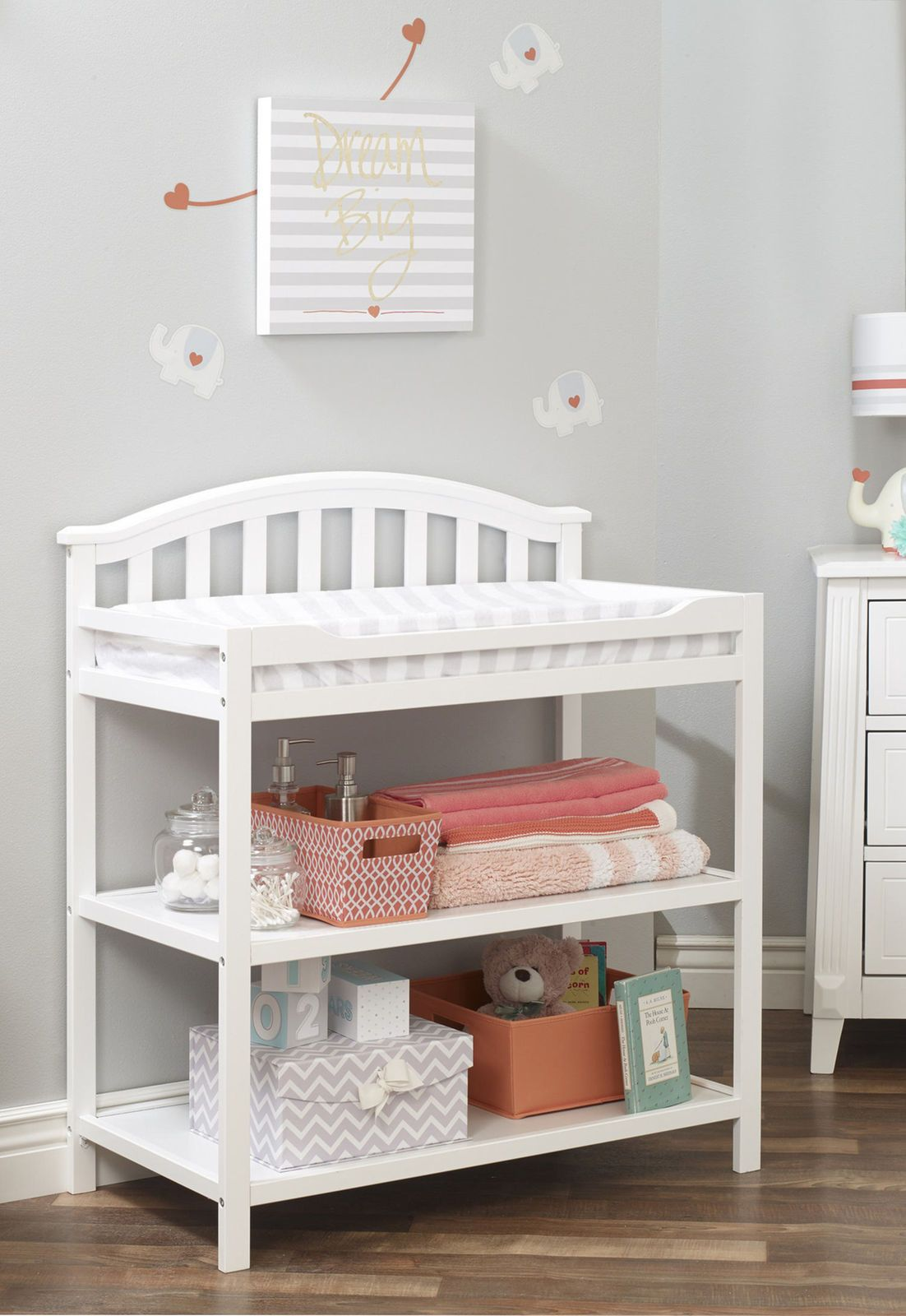 Sorelle Berkley Changing Table White Changing Table