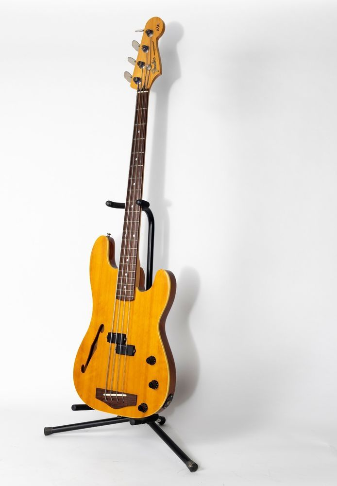 fender a e precision bass semi hollow body in 2019 bass guitar. Black Bedroom Furniture Sets. Home Design Ideas