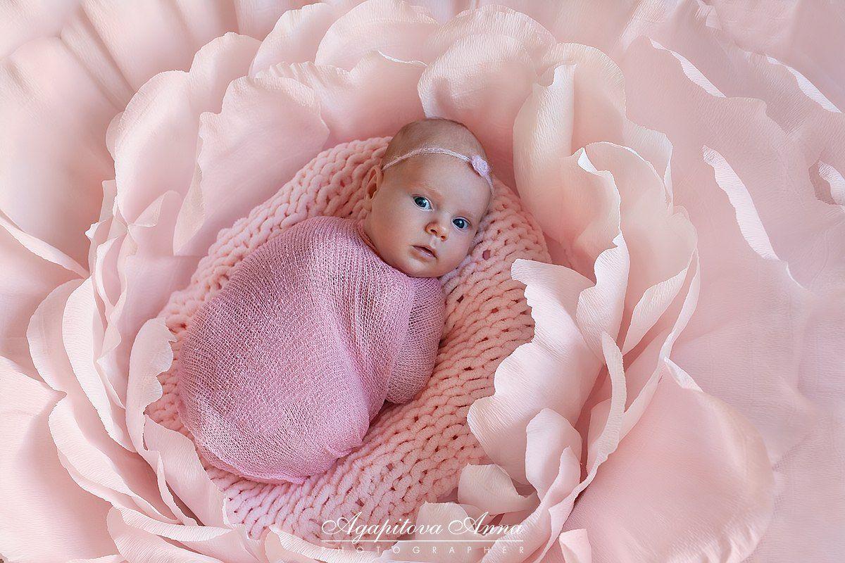 Цветок для новорожденных и маленьких малышек! – 10 ...