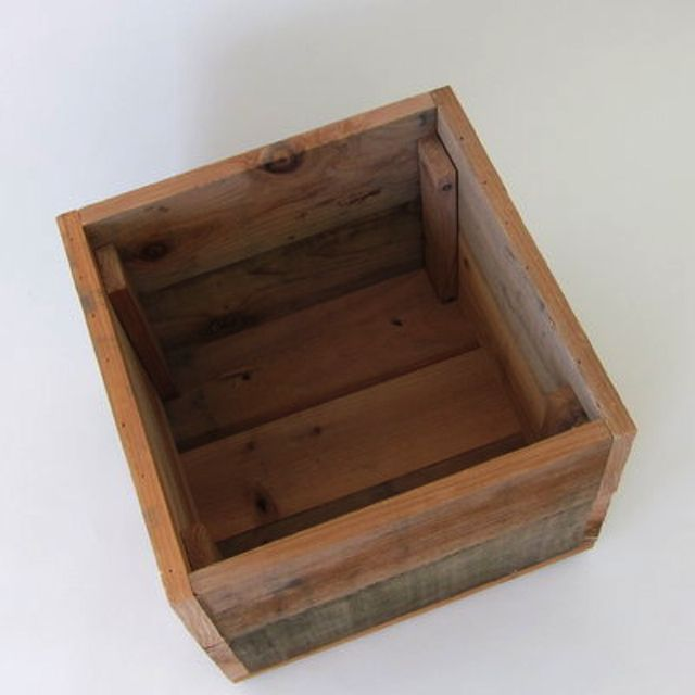 Large Redwood Planter Box For Tomatoes: Handmade Redwood Tomato Planter