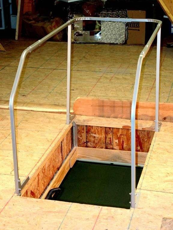 Best Versa Rail Model 60 Attic Ladder Safety Rail Vrm60 400 x 300