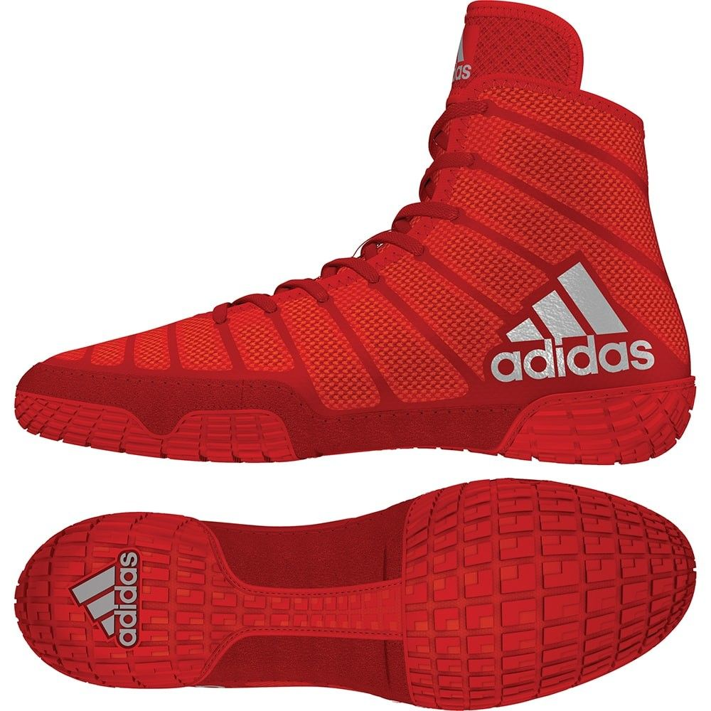 Adidas adiZero Varner (Red Silver Red) in 2019   Boxing