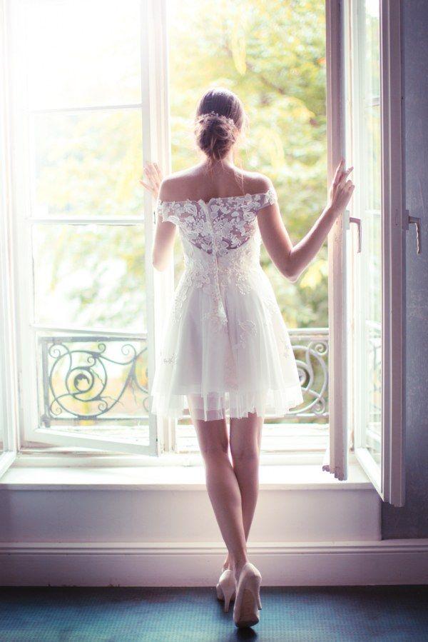 Welches Brautkleid passt zu welcher Figur  Auf www.gofeminin.de  hochzeit   traumkleider  spitze  vintage  tüll  kurz ea64265020