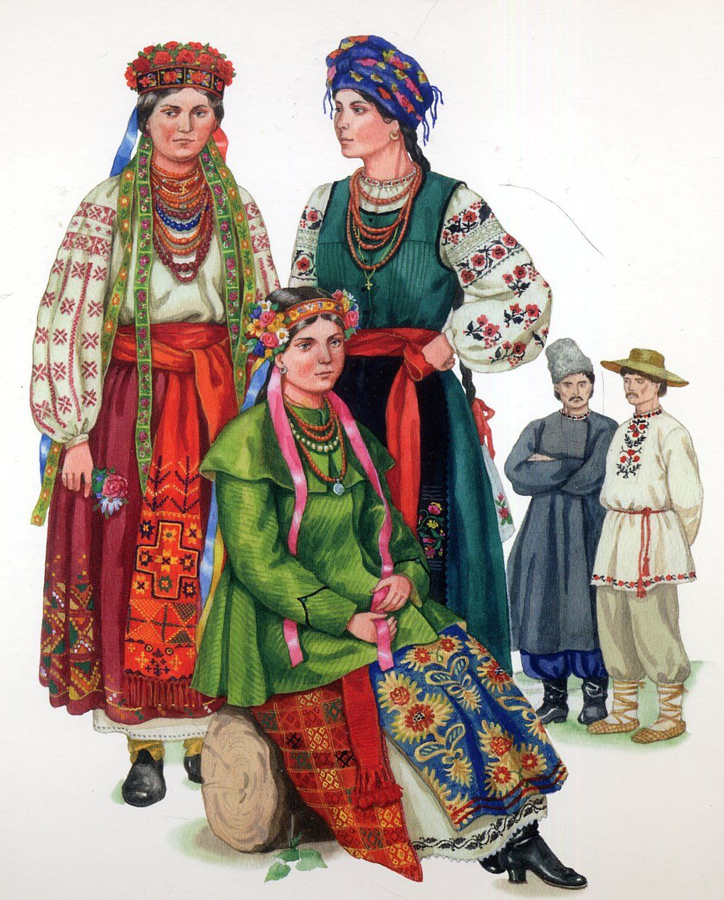 костюмы украинского народа картинки качестве
