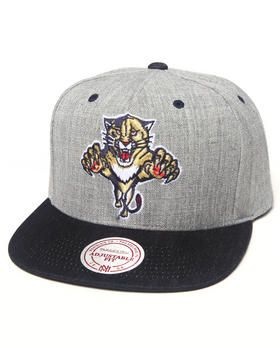 separation shoes c106f 443af Mitchell   Ness   Florida Panthers Nhl Hardwood Classics Grey Indigo Denim  2-Tone Snapback Hat. Get it at DrJays.com