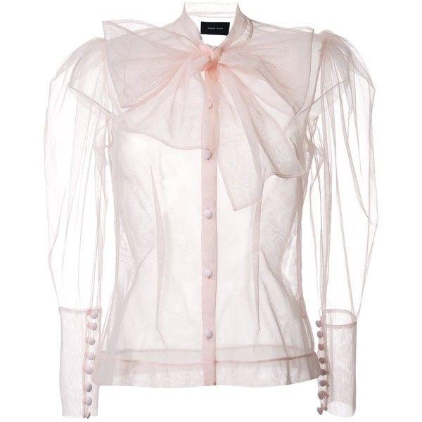 387892b510902 Simone Rocha bow detail blouse ( 1