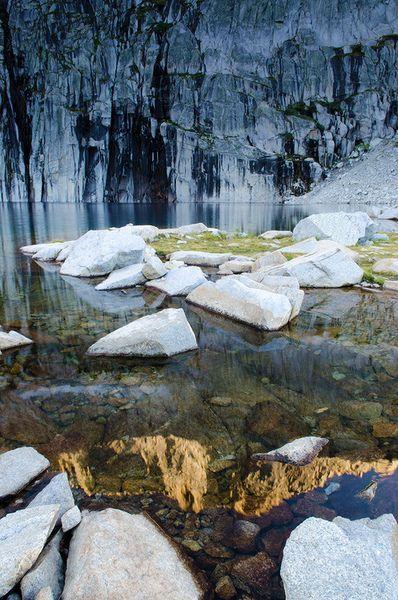 Precipice Lake Sequoia National Park California Love 2