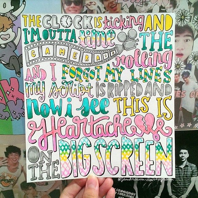 《Heartache on the Big Screen》-5 Seconds of Summer <<< this is so pretty omg