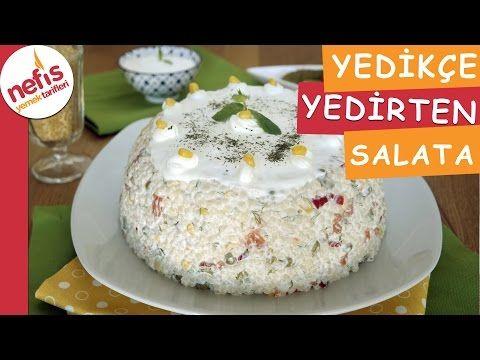 Yedikçe Yedirten Kuskus Salatası Tarifi Videosu – Nefis Yemek Tarifleri