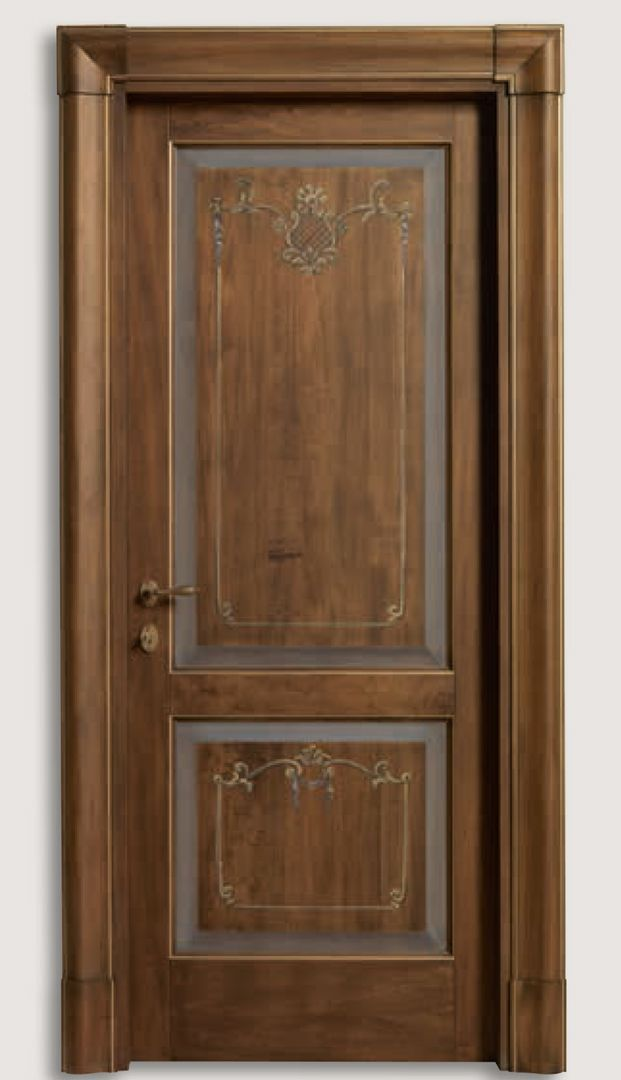 Donatello 1114 Q Antique Effect Trompe L Oeil Coating Classic Wood Interior Doors Italian Luxury Interior Do Wood Doors Interior Doors Interior Door Design