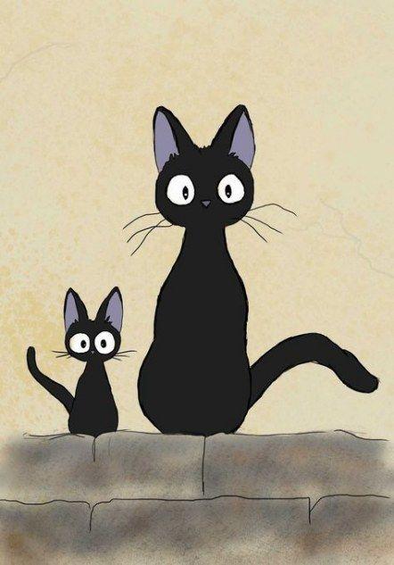 Cats cartoon wallpaper black 63 Ideas