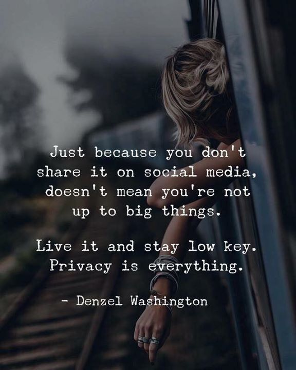 Just because you dont share it on social media doe… – #doe #Dont #Media #real …