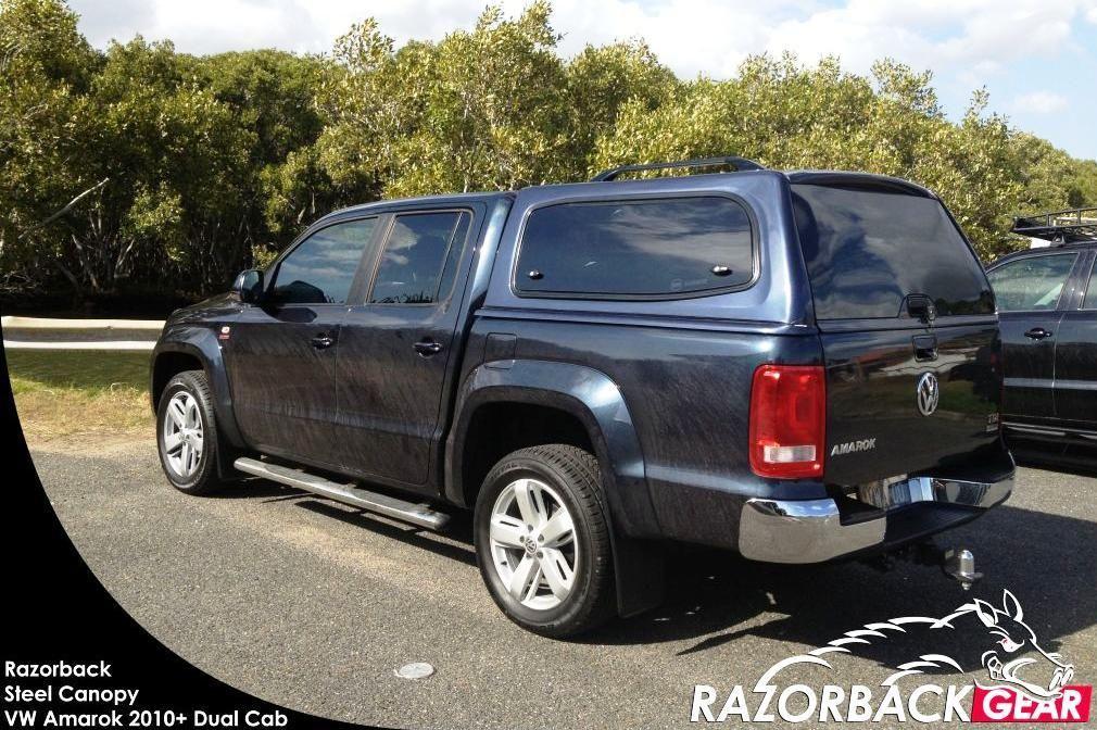 Razorback Steel Canopy for Toyota Hilux Dual Cab Ute & Razorback Steel Canopy for Toyota Hilux Dual Cab Ute | Amarok ...