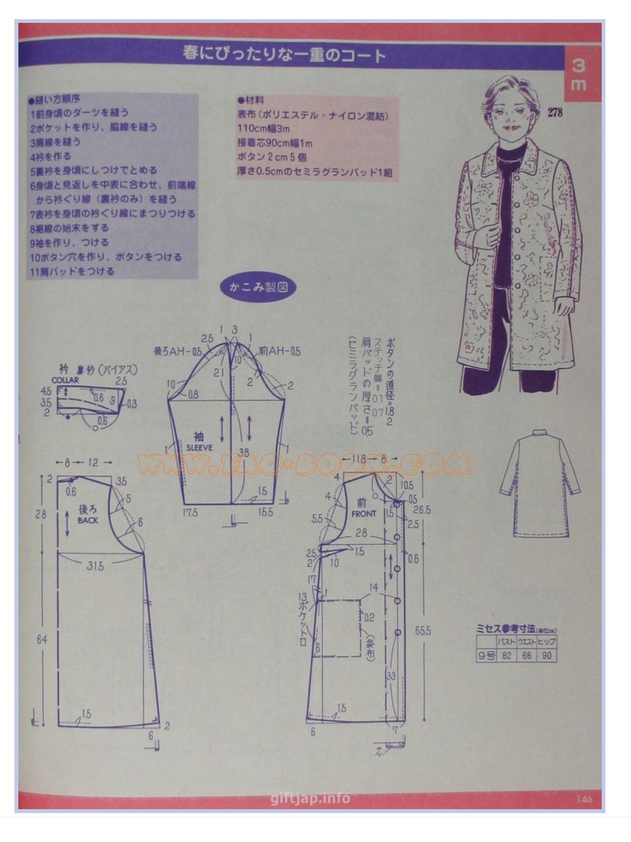 Nice lab coat pattern stil pattern pinterest coat patterns nice lab coat pattern sewing tipssewing projectsfree jeuxipadfo Gallery