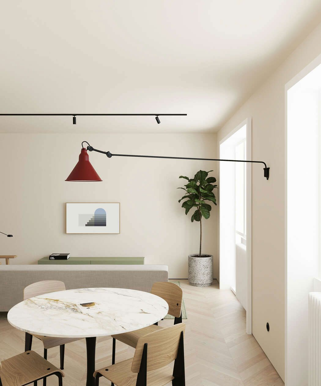 This Modern Scandinavian Style Apartment Is A Lesson In
