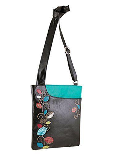 Espe Follie Cross Body Handbag Black