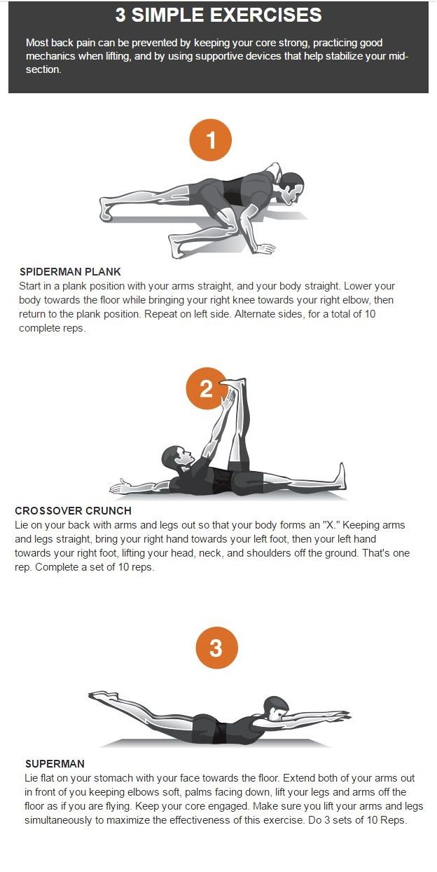 Simple Stretches To Prevent And Help With Back Pain Via Tommie