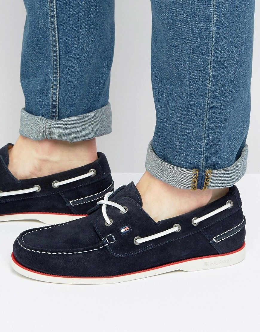 099b6f02758 Get this Tommy Hilfiger s deck shoes now! Click for more details. Worldwide  shipping.