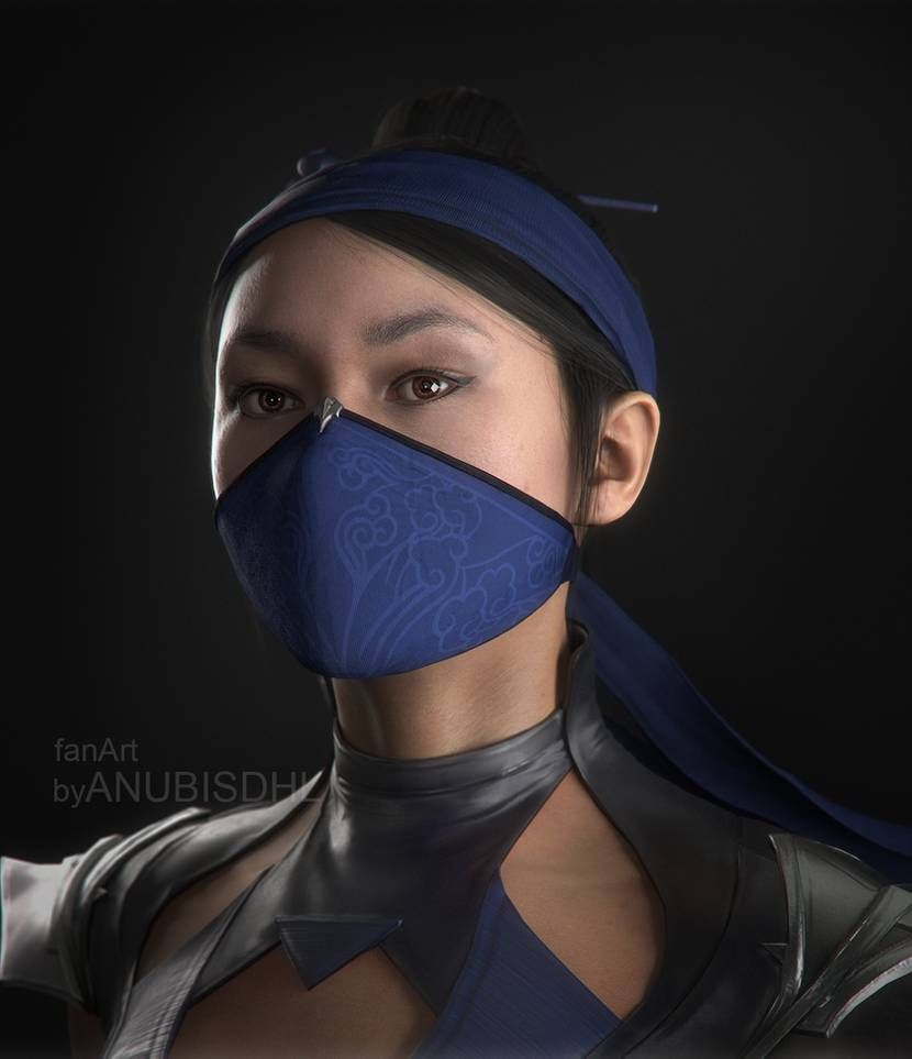 Kitana Portrait By Anubisdhl On Deviantart In 2020 Kitana Mortal