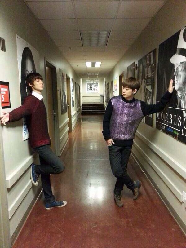 Youngmin & Donghyun going to go to Dallas -  BOYFRIEND (from their official twitter g_boyfriend)