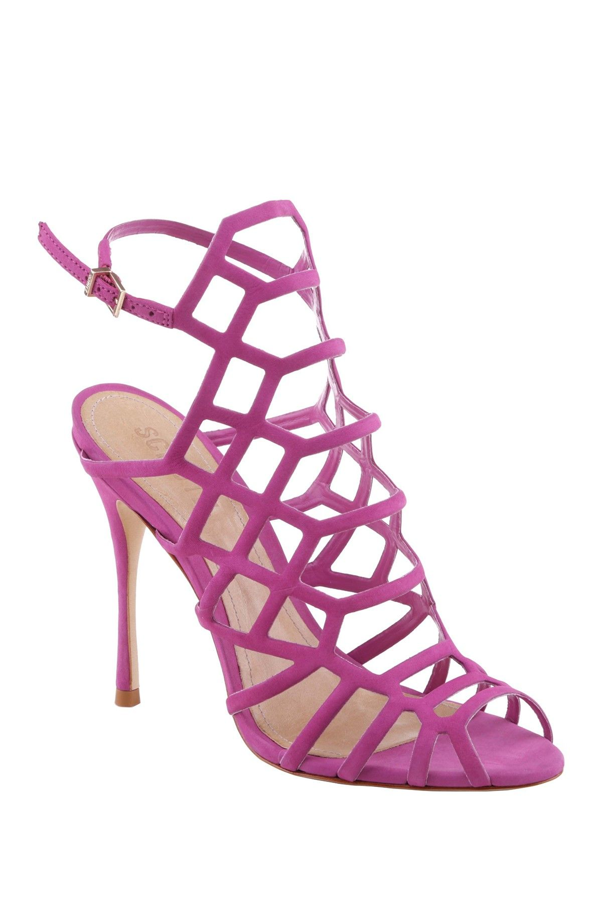 686e21494b Schutz | Juliana Caged Stiletto in 2019 | Let's get some shoes ...