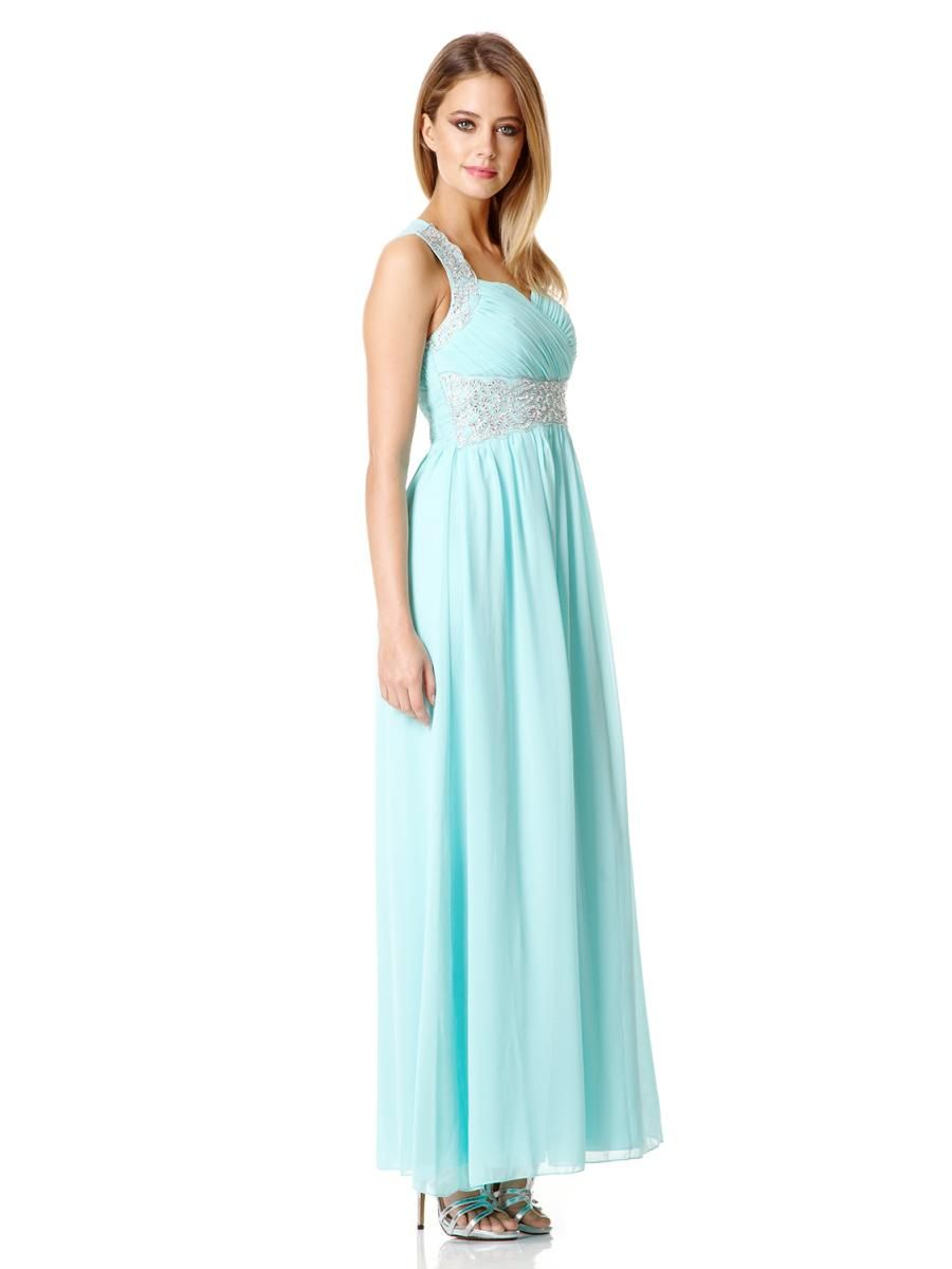 37+ Aqua long dress ideas