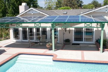 PHATPORT  Solar Panel Patio Cover. Brilliant!