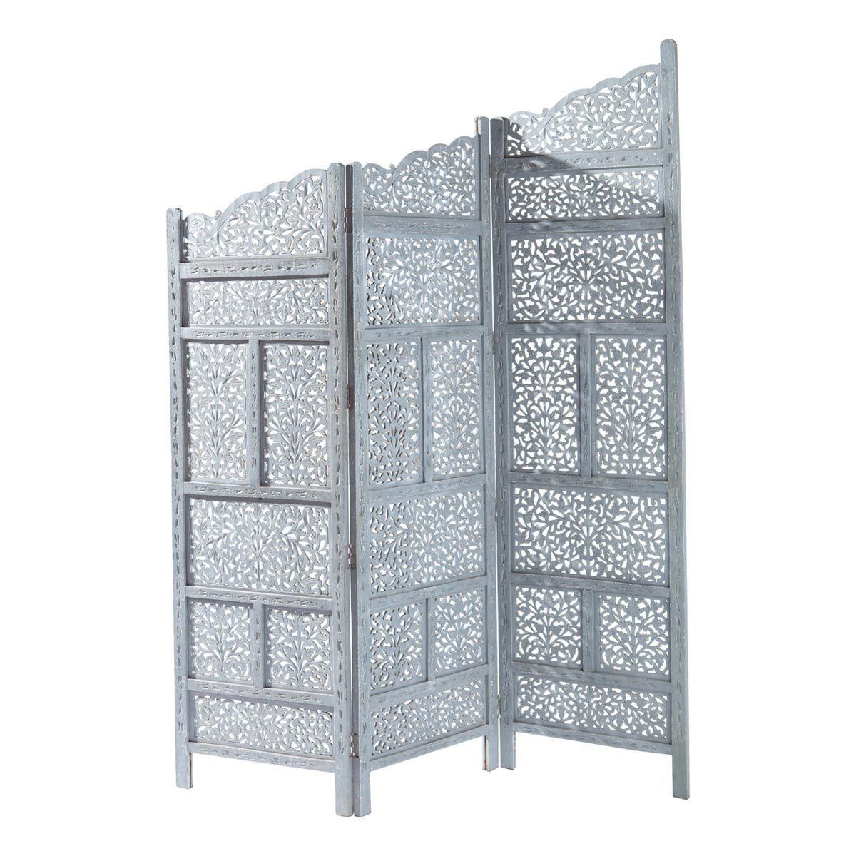 Raumteiler Aus Holz B 152 Cm Grau Raumteiler Paravent Raumteiler Coole Raume