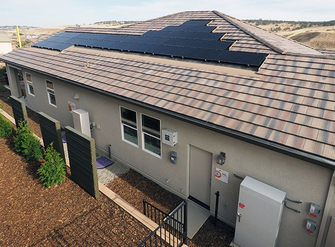 A SunPower PV system combined with a Sunverge storage unit will give householders the ability to & A SunPower PV system combined with a Sunverge storage unit will give ...