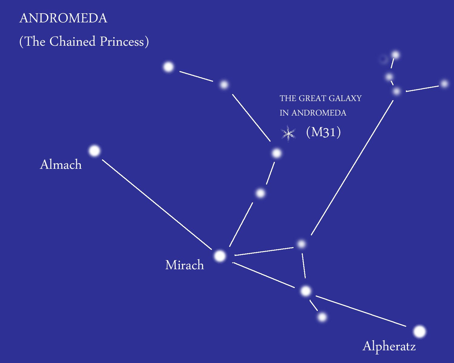 medium resolution of andromeda the chained princess the constellation is best known for the andromeda galaxy m31 which is the closest galaxy to our own milky way
